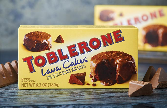 Toblerone Lava Cakes