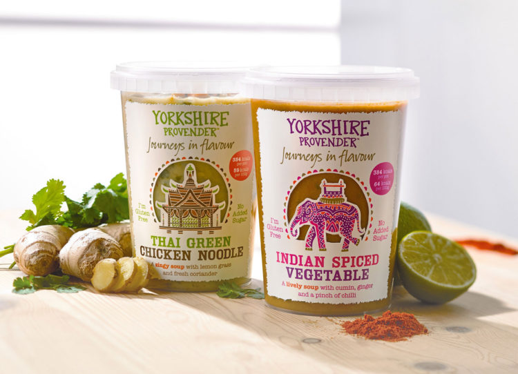 Packaging Design by CHILLI for Yorkshire Provender, Journeys in Falvour